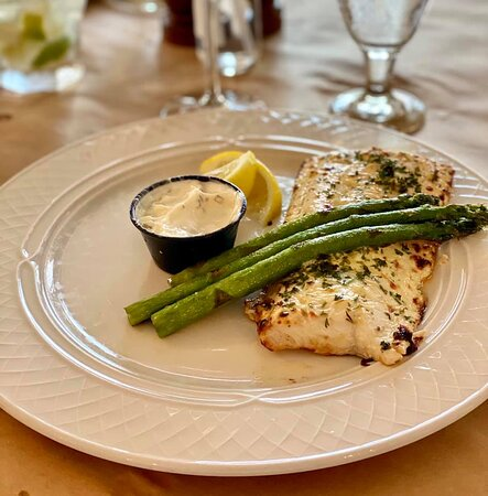 Whitefish specials every week.