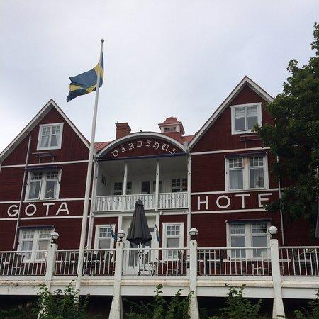 Göta hotel känt från filmen