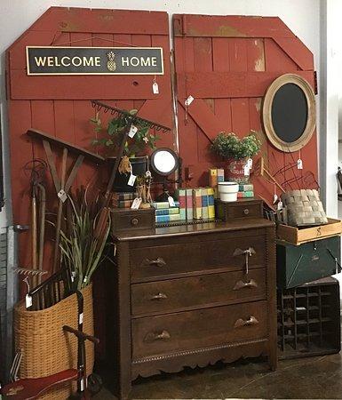 Vintage Red Carriage Barn Doors