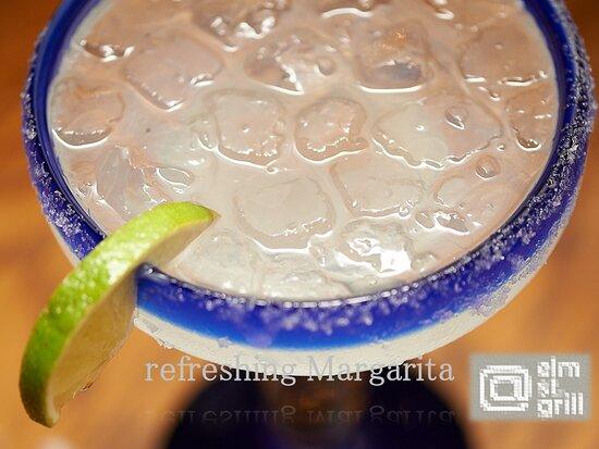 enjoy a refreshing Margarita while you are dining in or takeout, open 4:00- 8:30 pm Monday thru Saturday