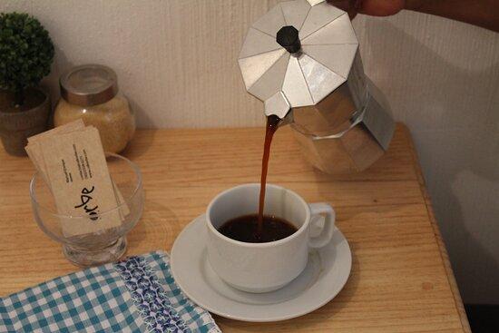 cafetera italiana/moka método