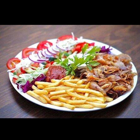 Manacor, Espanha: Plato kebab