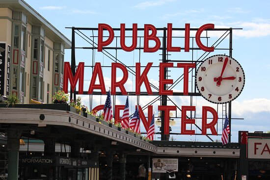 ‪Pike Place Market‬