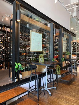 Check out our wine cellar at UE Square shop.