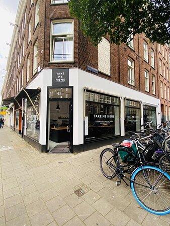 Front store on van Woustraat 45H Amsterdam