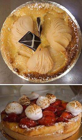 Desserts du chef au Restaurant Lou Gaudina