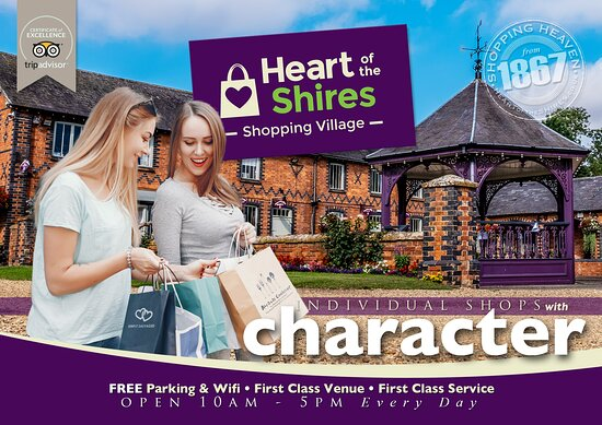 ‪Heart of the Shires Shopping Village‬