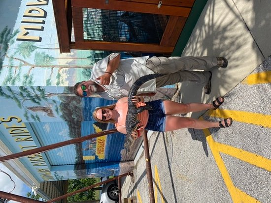 Best Airboat ride! Thanks Captain Steve!!