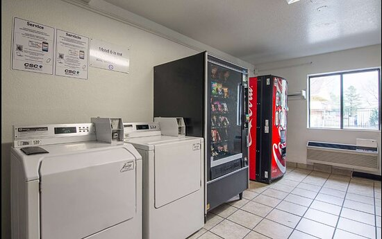 Laundry room for all of our hotel guests.  Great for extended stay construction workers