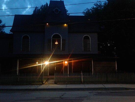 Extérieur façade.  Photo: 29 juillet, 2020