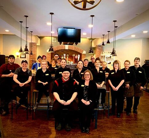 Our staff...waiting to serve you.