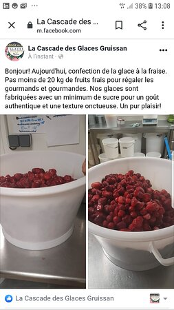 Miam, des fraises