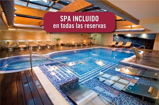Zona de la piscina. El hotel cuenta con la Q de calidad turística. - 巴塞隆納維拉奧利匹克@套房酒店&溫泉的圖片 - Tripadvisor
