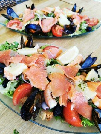 Salades de la mer