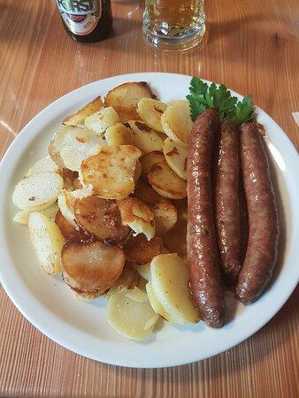 Salsicce con patate