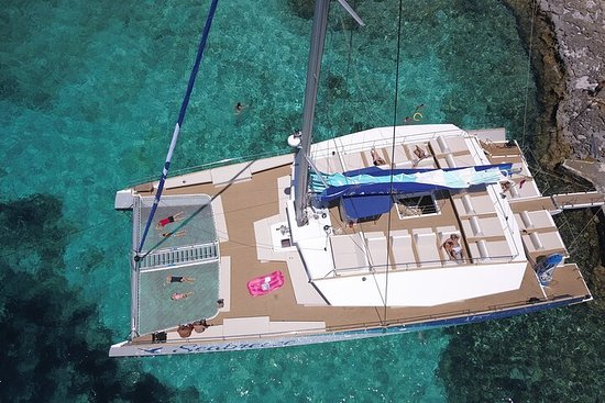 Beaches & Bays on a catamaran under...
