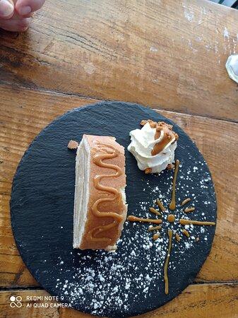Bras de Gitan et sa noix de crème chantilly