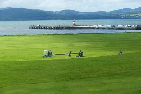 The Hotel has it's own Golf Course - for the (free) use of guests.