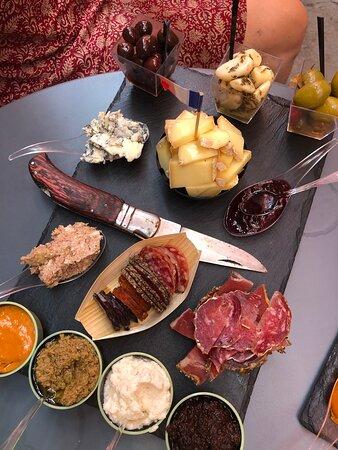 Repas agréable au cœur de Grasse
