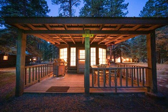 Tipton cabin exterior