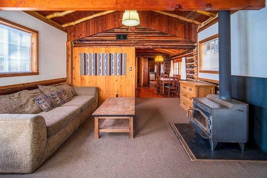 Tipton cabin living room