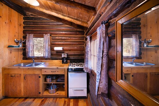 Tipton cabin kitchen