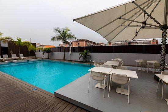 Cabinda, אנגולה: Pool area