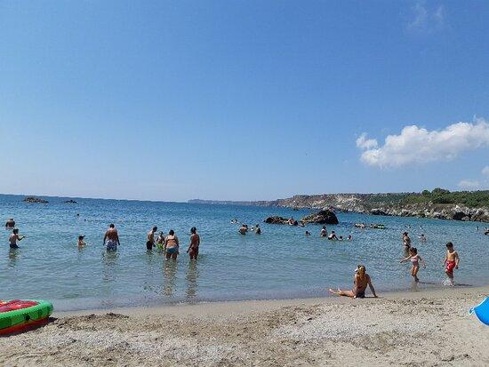 Russalka beach