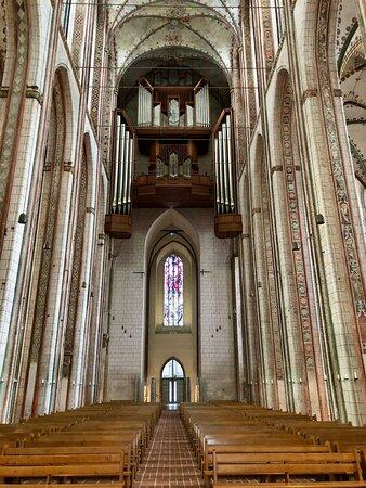 Marienkirche - interior: nave facing west.