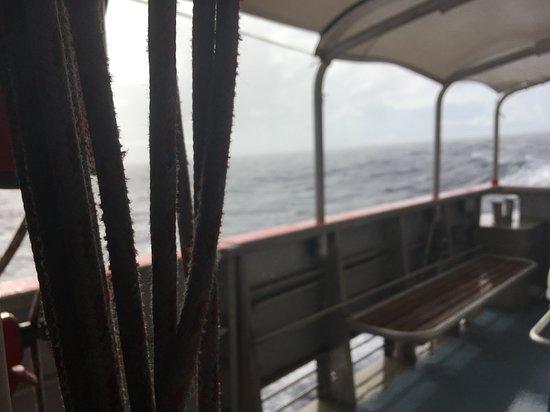 Islas Marquesas, Polinesia Francesa: Marquesas Islands - navette de retour Fatu Hiva vers Hiva Oa