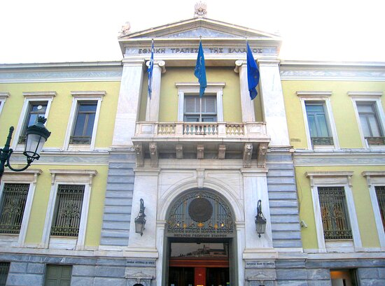 Kotzia Square: National Bank Of Greece