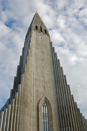 imposing building