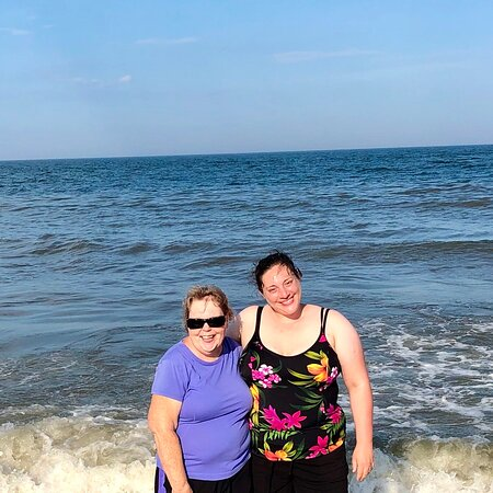 Me & my mother in law Dora. July 2020