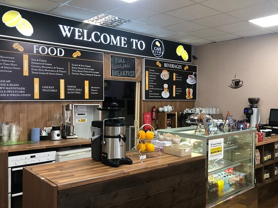 בישופ'ס סטורטפורד, UK: cafe rishi