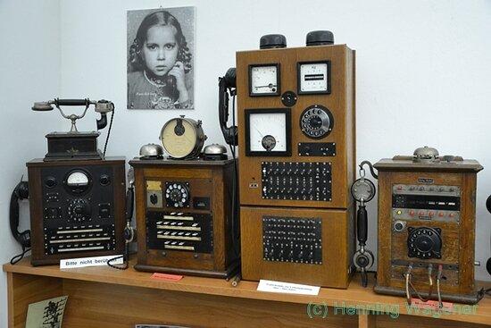Radio und Telefonmuseum im Verstärkeramt Rheda-Wiedenbrück