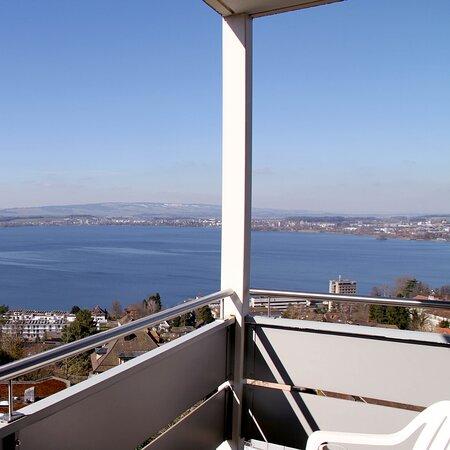 Aussicht Balkon Hotelzimmer