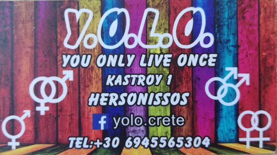 ‪Y.O.L.O. You Only Live Once‬