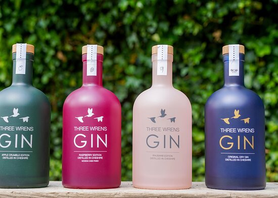 Cheshire, UK: Our craft gin range