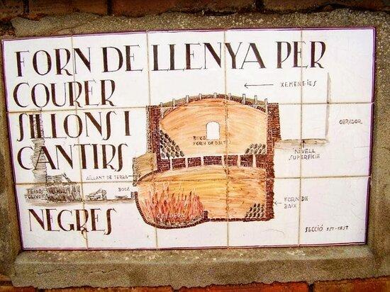 Verdu, Espanha: Cerámica Roca Caus. Antiguo horno de leña. Desde 1730.