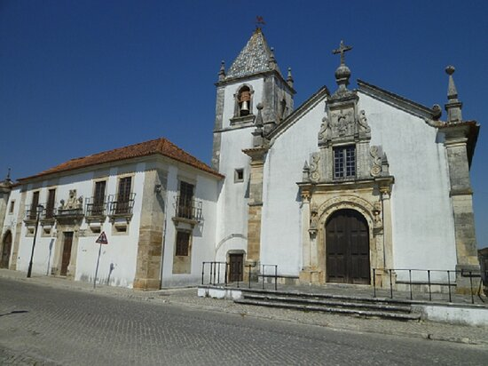 Portugal central, Portugal: The Church of 'Santa Casa da Miseriórdia' was built at the end of the 16th Century. It   presents a formal sobriety both in terms of construction and in its decoration.