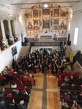 Portugal central, Portugal: The Church of Misericordia is location for the Spring Concert