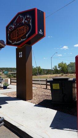 Ash Fork, AZ: Sign
