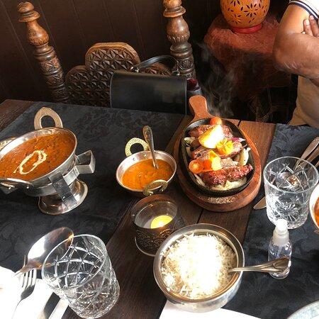 Heerlijk gegeten! Enjoyed the Indian Food!