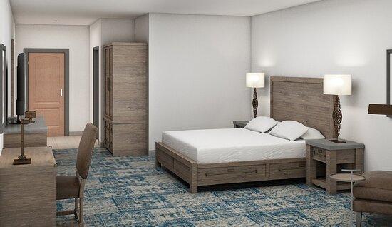 Scotts Valley, CA: Hotel room
