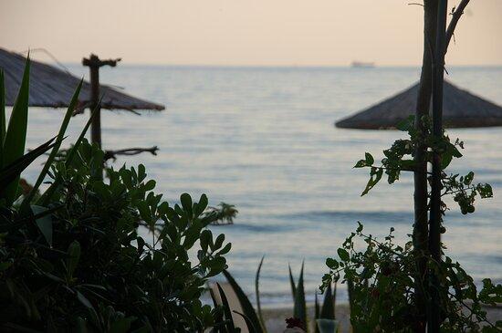 Nea Karvali, Grécko: View from the terrace