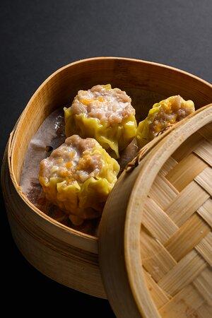 The popular homemade steamed Siu Mai (Pork and Prawns)