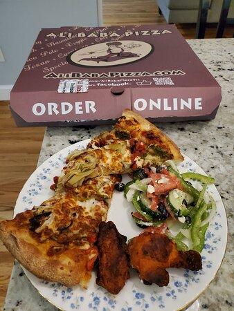 Ali Baba Pizza Victoria 3995 Quadra St Menu Prices Restaurant Reviews Tripadvisor € 11,00 pizza ali baba special salami, ham, champignons, ananas, paprika, scampi's, shoarma en € 12,00 kebab schotel lier paprika, ajuin, champignons. ali baba pizza victoria 3995 quadra