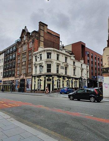 The Vernon Arms Pub along Dale Street.