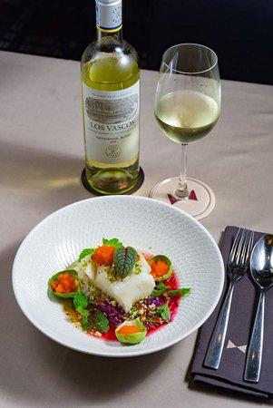 Snowfish with sauvignon blanc
