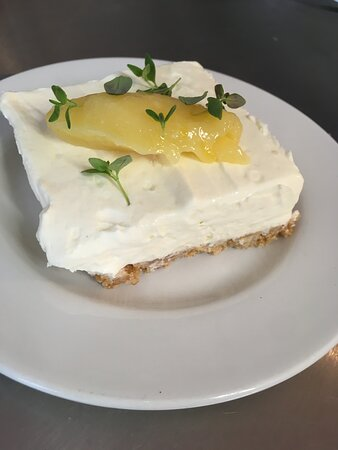 Our fabulous Gin and Tonic Cheesecake